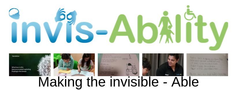 invis-Ability – Making the invisible Able, Building Bridges to success